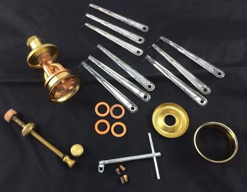 Parts Kit for 2412 Brass Stove
