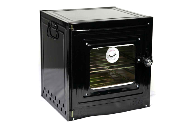 oven with heat tempered glass unassembled portable camping oven for kerosene stove 2421. Black Bedroom Furniture Sets. Home Design Ideas