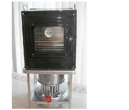 Aluminum Stove and Oven Combo (unassembled)