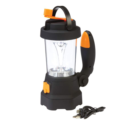 Rechargeable Crank LED Lantern w/USB
