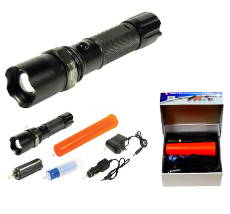 3 Watt CREE Rechargeable LED Flashlight
