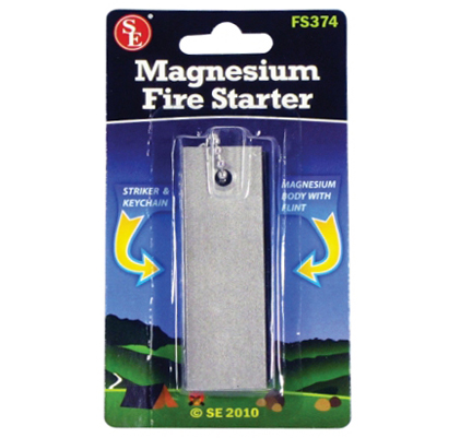Magnesium Fire Starter - Click Image to Close