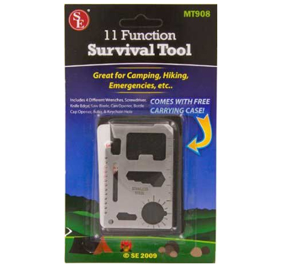 11 Multi-Functional Survival Tool - Click Image to Close